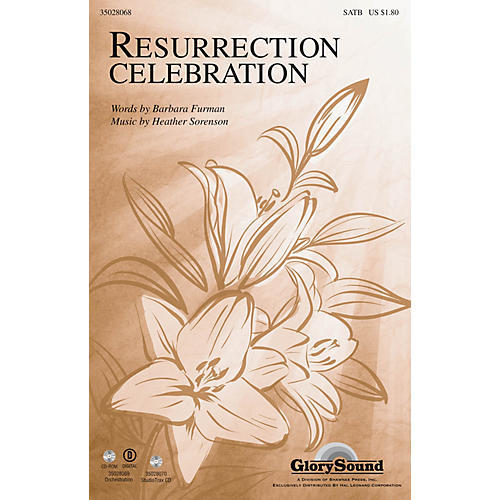Shawnee Press Resurrection Celebration Studiotrax CD Composed by Heather Sorenson