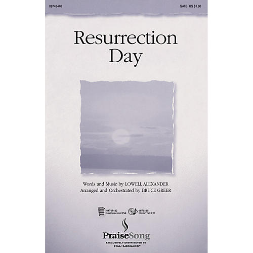 Hal Leonard Resurrection Day IPAKO Arranged by Bruce Greer