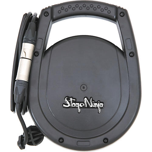 Stage Ninja Retractable XLR Male 26' Cable System for Powered Speakers