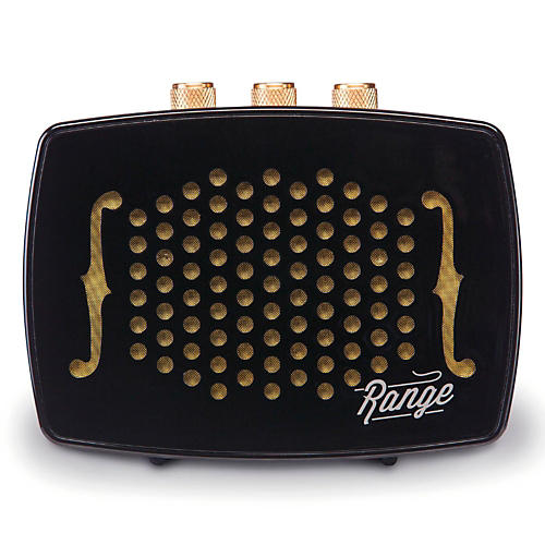 BEM Wireless Retro-Design Bluetooth Speaker with 40 Ft.  Range, 8 Hr. Playtime and Rechargeable Battery Ebony