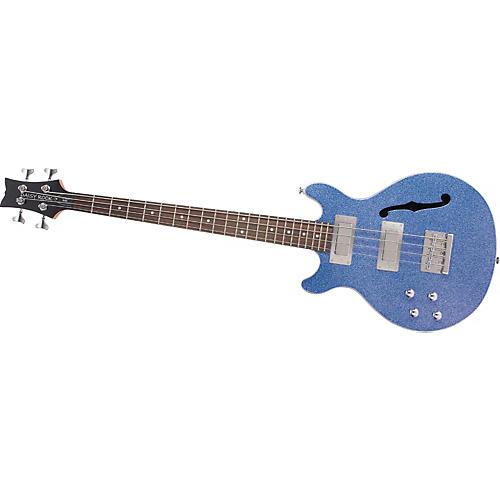 Daisy Rock Retro-H Semi-Hollow Left-Handed Bass Guitar