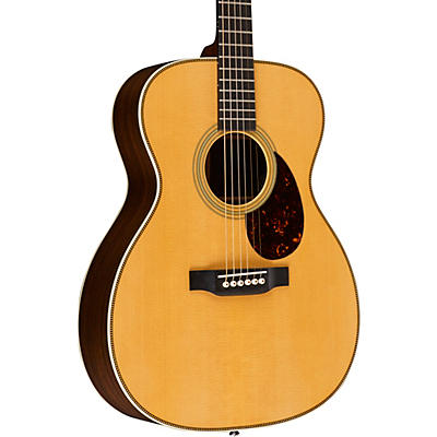 Martin Retro Series OM-28E Orchestra Model Acoustic-Electric Guitar