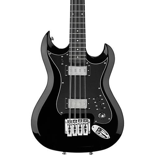Hagstrom Retroscape H8 Reissue 8-String Electric Bass Guitar Gloss Black