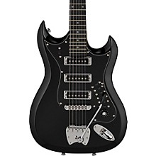 Retroscape Series H-III Electric Guitar Gloss Black