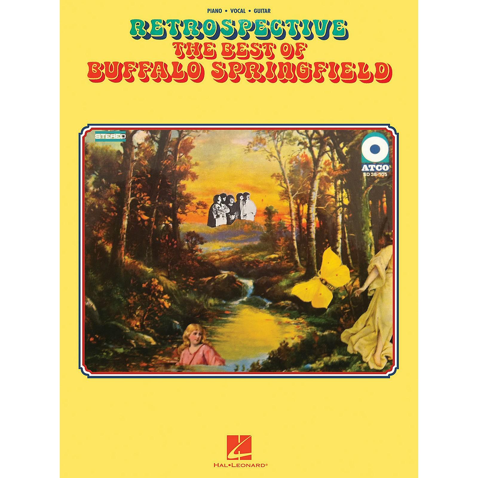 Hal Leonard Retrospective - The Best of Buffalo Springfield for Piano/Vocal/Guitar