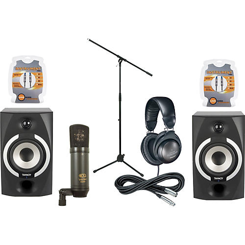 Musician's Friend Reveal 501A Monitor & Mic Package