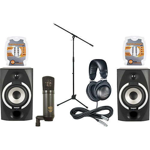 Musician's Friend Reveal 601A Monitor & Mic Package