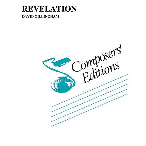 Hal Leonard Revelation Concert Band Level 5 Composed by David Gillingham