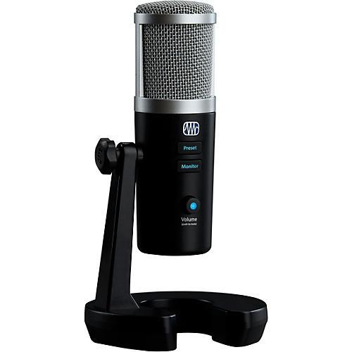 PreSonus Revelator USB-C Compatible Microphone With StudioLive Black