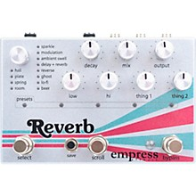 Open BoxEmpress Effects Reverb Effects Pedal