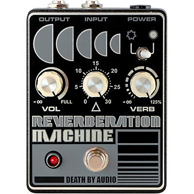 Death By Audio Reverberation Machine Reverb Effects Pedal