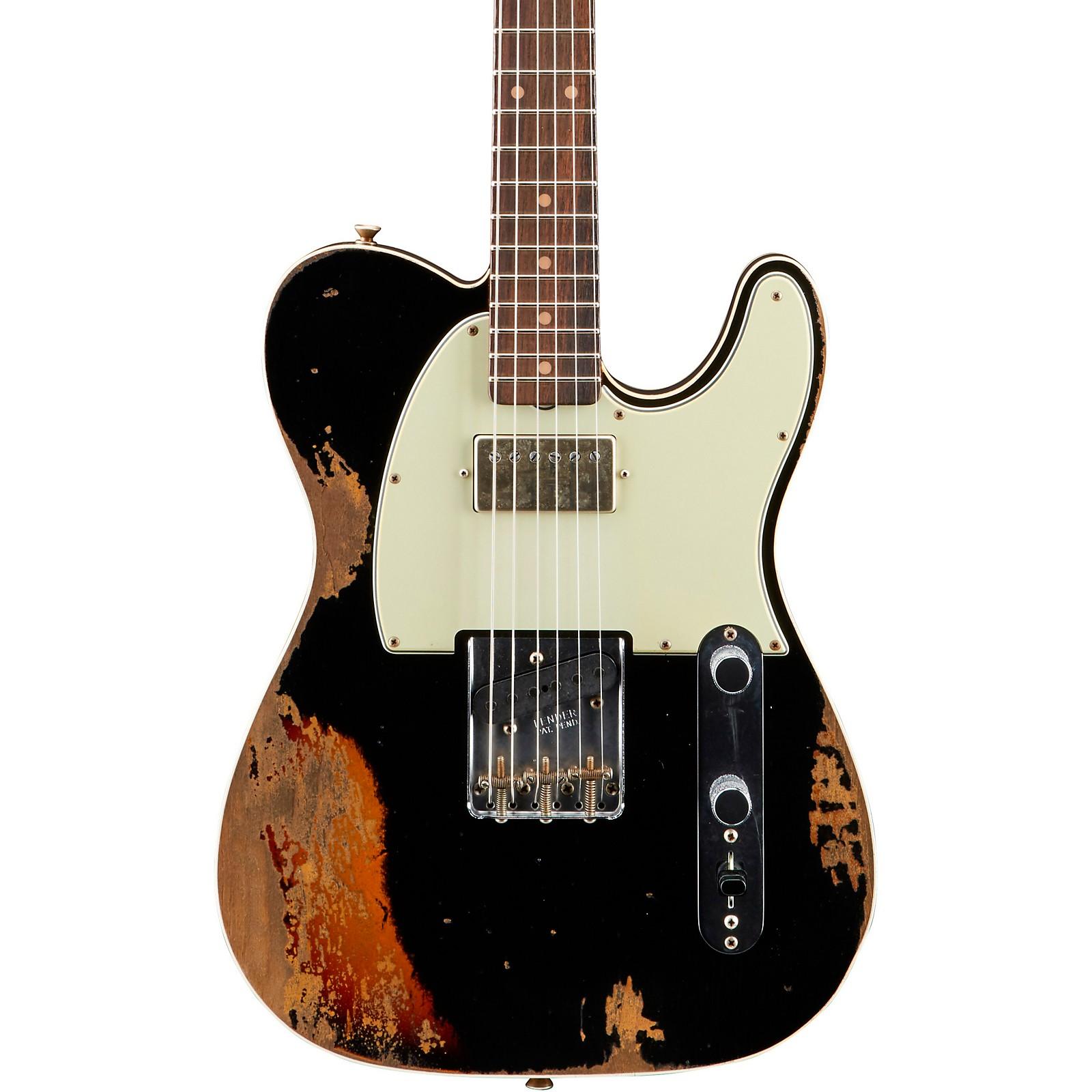 Fender Custom Shop Reverse Custom HS Telecaster Heavy Relic Electric Guitar