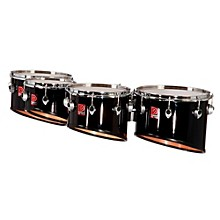 Revolution Series Quads 8, 10, 12 and 13 in. Ebony Black Lacquer