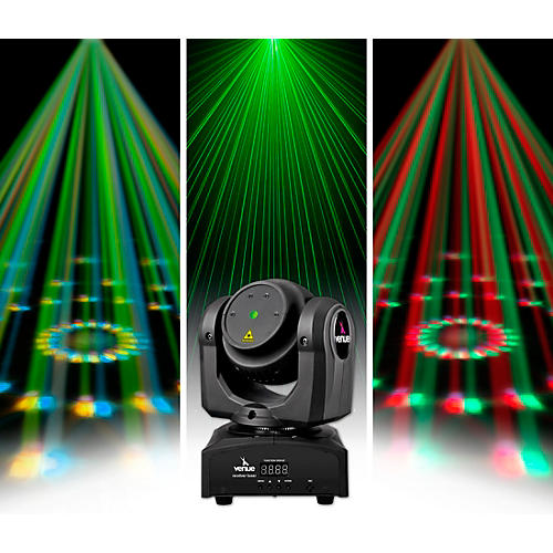 Venue Revolver Laser Dual-Sided Moving Head Effect Light with Laser and Moonflower Condition 1 - Mint