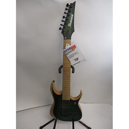 Ibanez Rgdix7mpd Solid Body Electric Guitar green burst