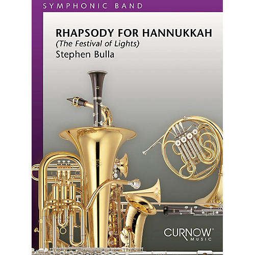 Curnow Music Rhapsody for Hanukkah (Grade 5 - Score Only) Concert Band Composed by Stephen Bulla