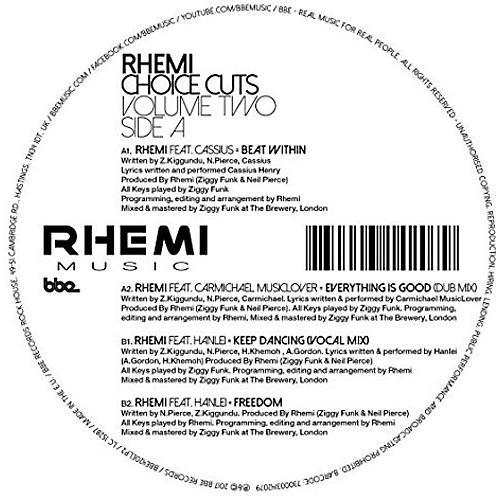 Alliance Rhemi - Choice Cuts Vol 2