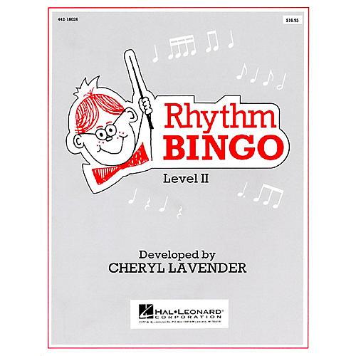 Hal Leonard Rhythm Bingo Level 2