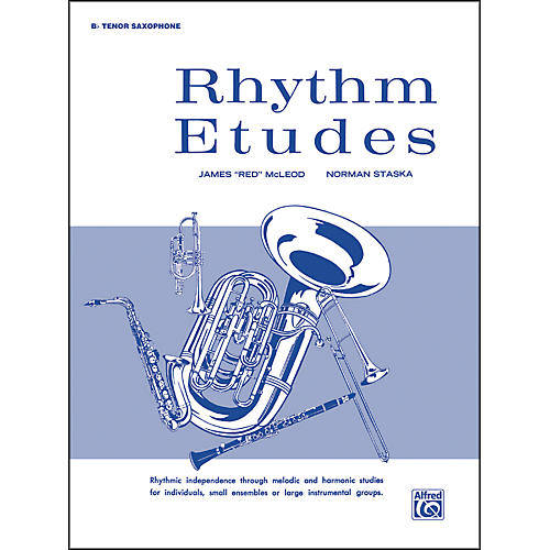 Alfred Rhythm Etudes B-Flat Tenor Saxophone