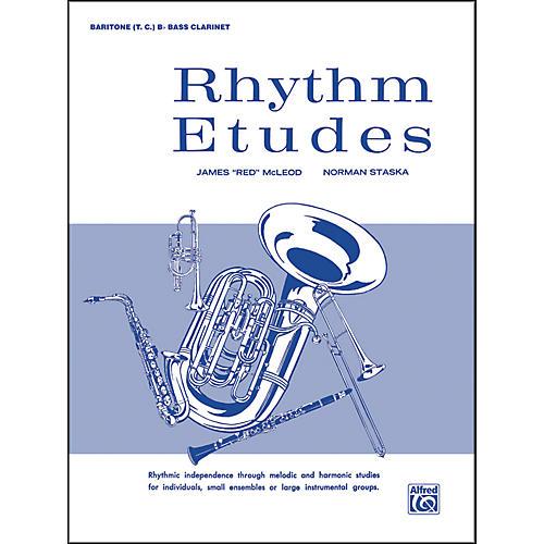 Alfred Rhythm Etudes Baritone T.C. (B-Flat Bass Clarinet)