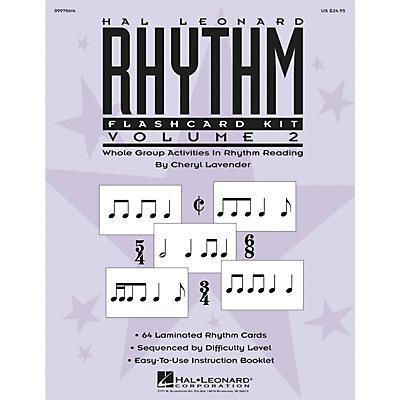 Hal Leonard Rhythm Flashcard Kit Vol. 2