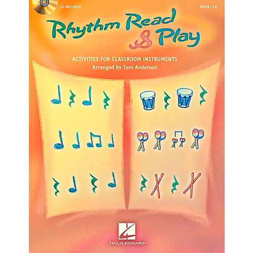 Hal Leonard Rhythm Read & Play - Activities for Classroom Instruments Book/CD