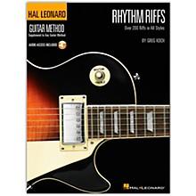 Hal Leonard Rhythm Riffs (Book/Online Audio)
