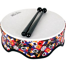 RhythmTech Rhythm Village Benkadi Club Series 14 in. Rally Drum with Mallets