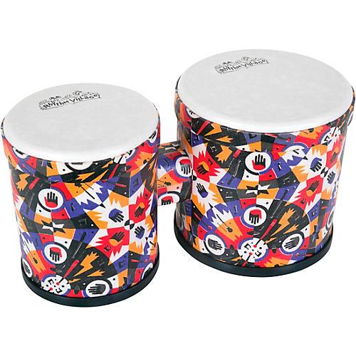 Rhythm Tech Rhythm Village Benkadi Club Series Bongo 13 x 9.75 in. Benkadi Burst