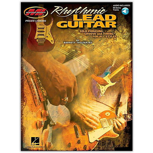 Hal Leonard Rhythmic Lead Guitar (Book/Online Audio)