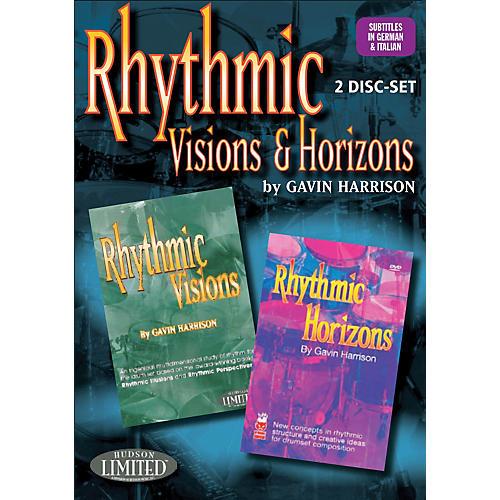 Hudson Music Rhythmic Visions & Horizons with Gavin Harrison 2 DVD Set