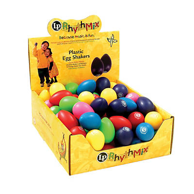 LP Rhythmix Plastic Egg Shakers (48 Pack)