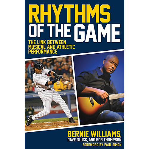 Hal Leonard Rhythms of the Game Book Series Hardcover Written by Bernie Williams