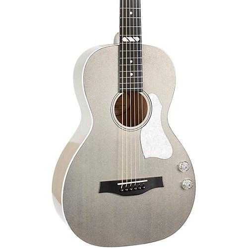 Godin Rialto JR Satina Gray HG Q-Discrete Acoustic-Electric Guitar Satina Gray