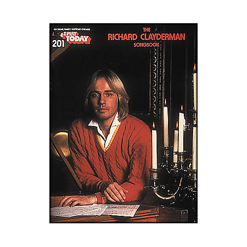 Hal Leonard Richard Clayderman Songbook E-Z Play 201
