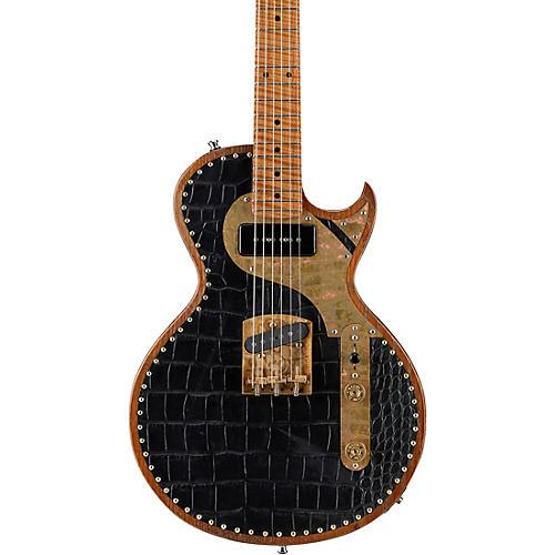 Paoletti Guitars Richard Fortus Signature Junior Electric Guitar Black