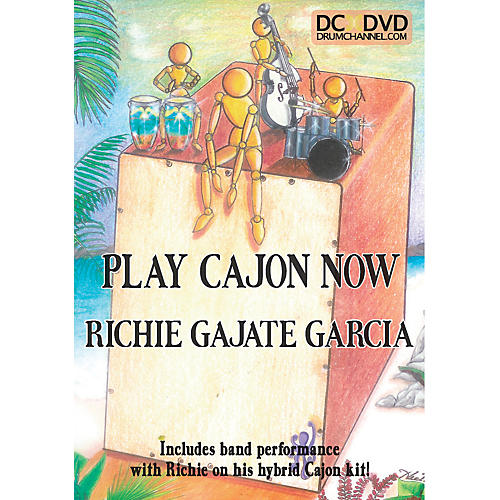 The Drum Channel Richie Gajate-Garcia - Play the Cajon DVD