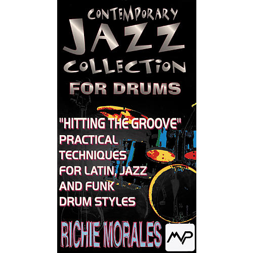 MVP Richie Morales Contemporary Jazz Collection for Drums (Video)