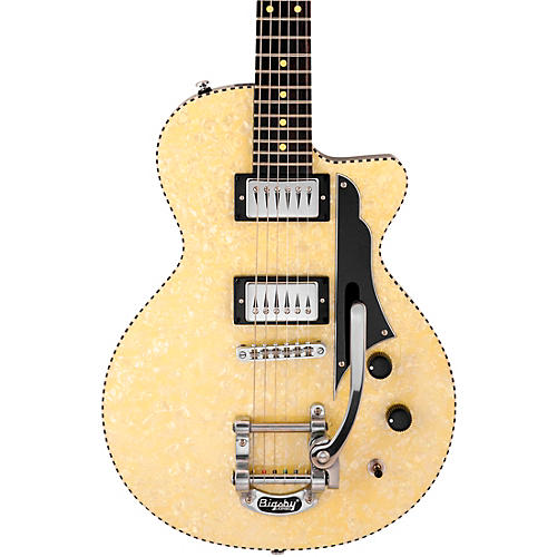 Reverend Rick Vito Signature Soul Shaker Electric Guitar Ivory
