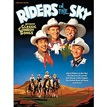 Hal Leonard Riders In The Sky Present Classic Cowboy Songs (Book) arranged for piano, vocal, and guitar (P/V/G)