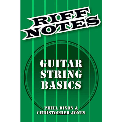 Hal Leonard Riff Notes - Guitar String Basics