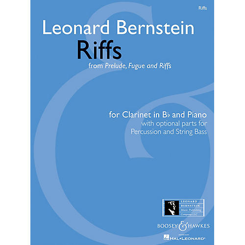 Boosey and Hawkes Riffs Boosey & Hawkes Chamber Music Softcover Composed by Leonard Bernstein Arranged by Scott Eyerly