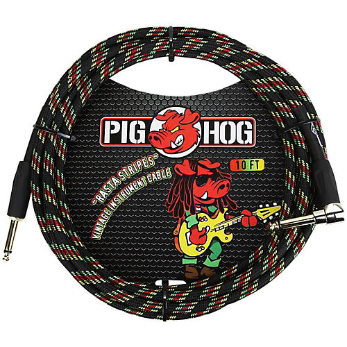 Pig Hog Right Angle Instrument Cable