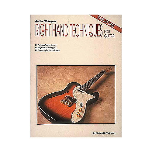 Hal Leonard Right Hand Techniques For Guitar Book