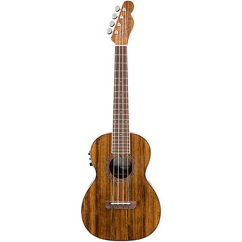 Fender Rincon Tenor Acoustic Electric Ukulele Natural