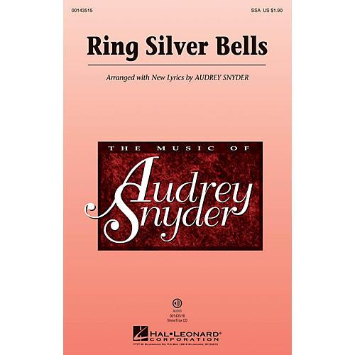 Hal Leonard Ring Silver Bells SSA arranged by Audrey Snyder