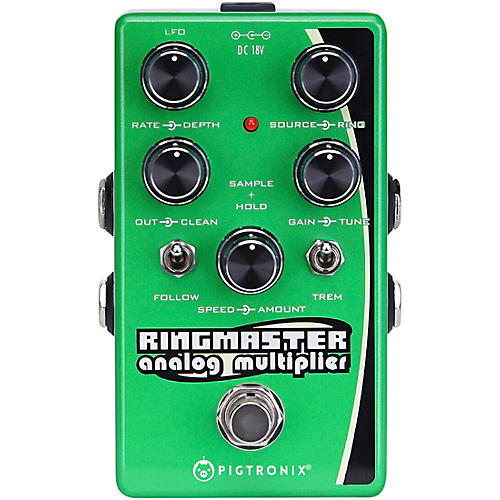 Pigtronix Ringmaster Ring Modulator Analog Multiplier Effects Pedal Condition 1 - Mint