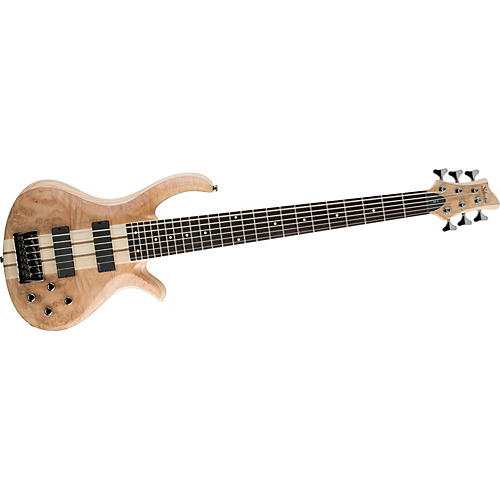 Schecter Guitar Research Riot-6 Burl Maple 6-String Electric Bass Guitar