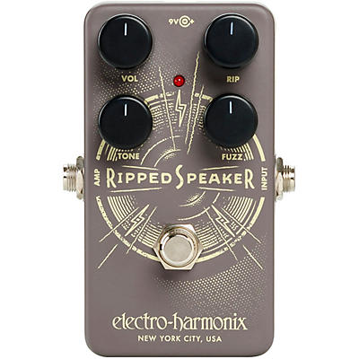 Electro-Harmonix Ripped Speaker Fuzz Effects Pedal