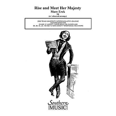 Hal Leonard Rise And Meet Her Majesty (Choral Music/Octavo Sacred 2-part) TB Composed by Erck, Marc